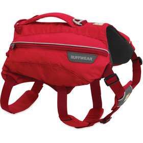 Ruffwear Singletrak Zaino, red currant